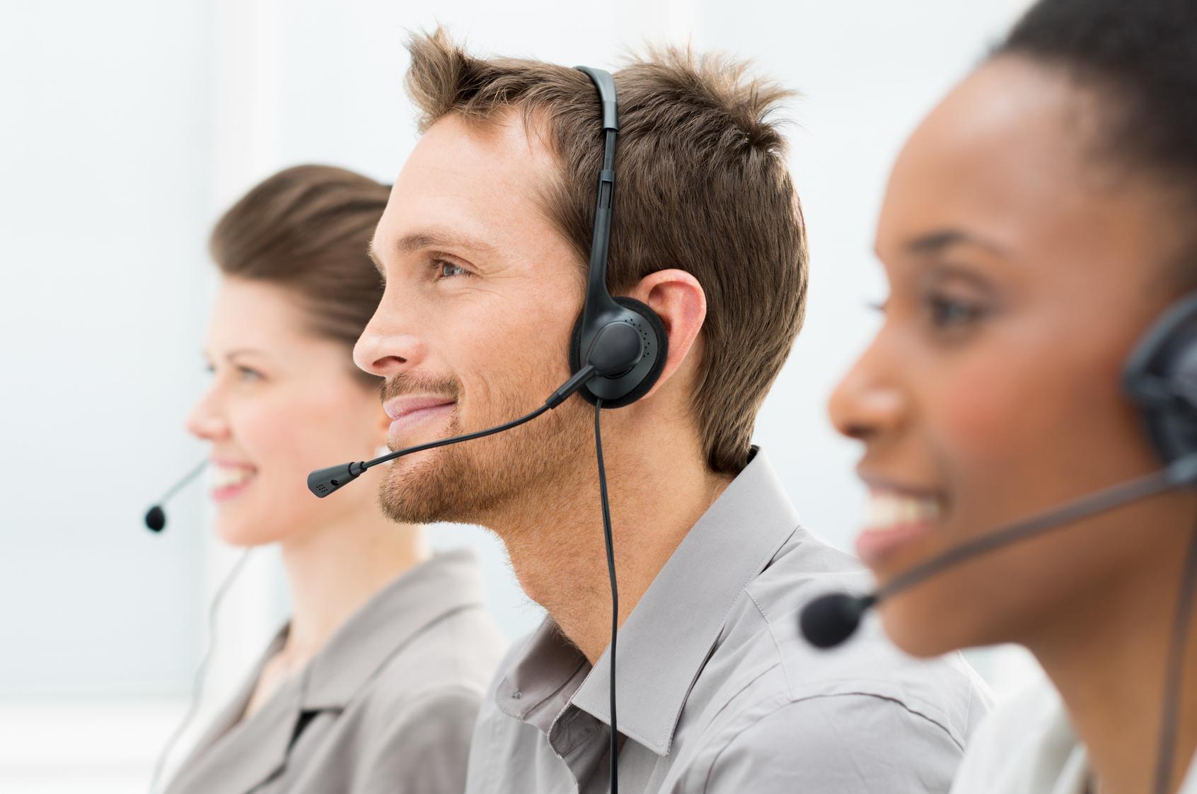 Call Center Work Environment